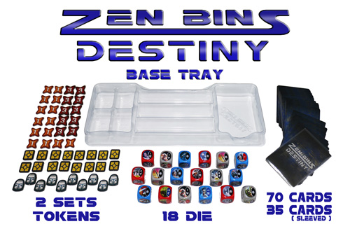 Zen Bins Base Tray Layout