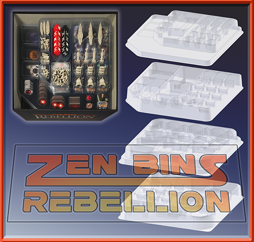 Zen Bins Rebellion 4 Trays