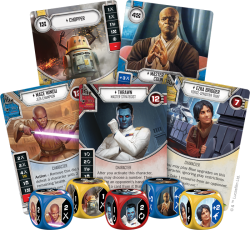Empire at War -Star Wars Destiny