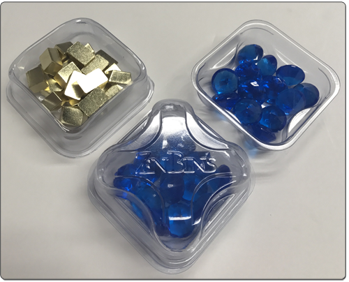 Zen Bins 2-in-1 Token Trays